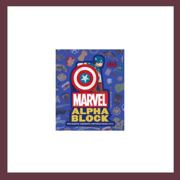 Marvel Alphablock Children's Book at The Children's Bookstore