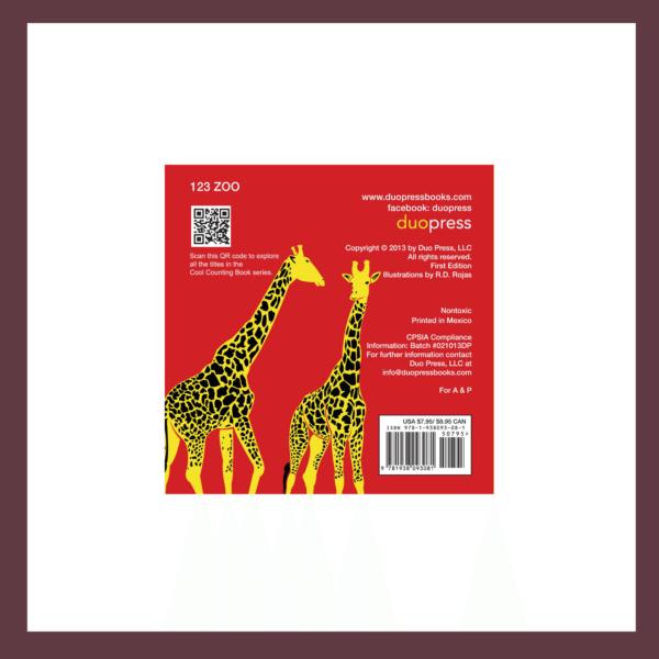 123 Zoo Children's Book at The Children's Bookstore