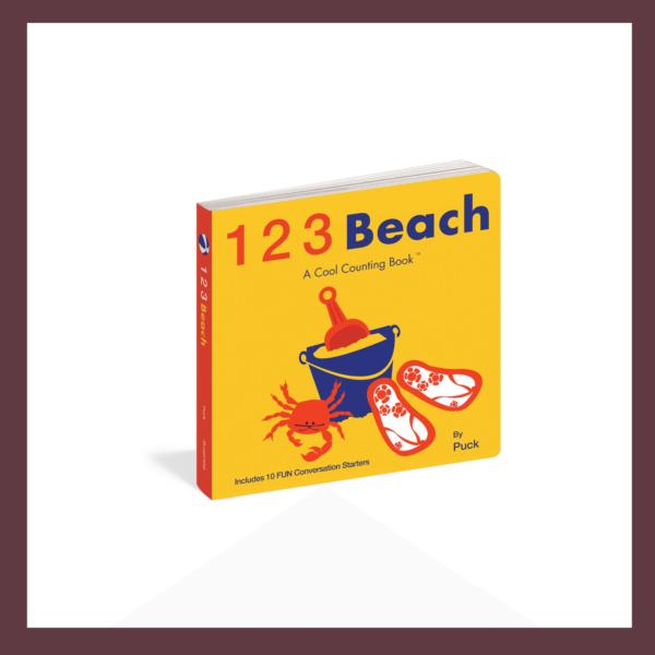 123 Beach Children's Book at The Children's Bookstore
