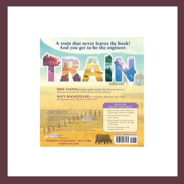 Train: A Journey Through the Pages Children's Book at The Children's Bookstore
