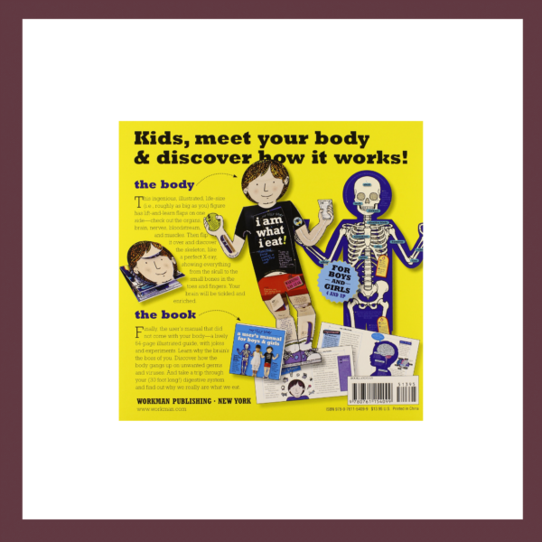 My Silly Body and Book Children's Book