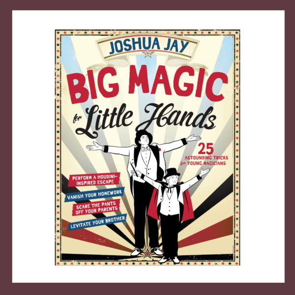 Big Magic Book Children's Book at The Children's Bookstore