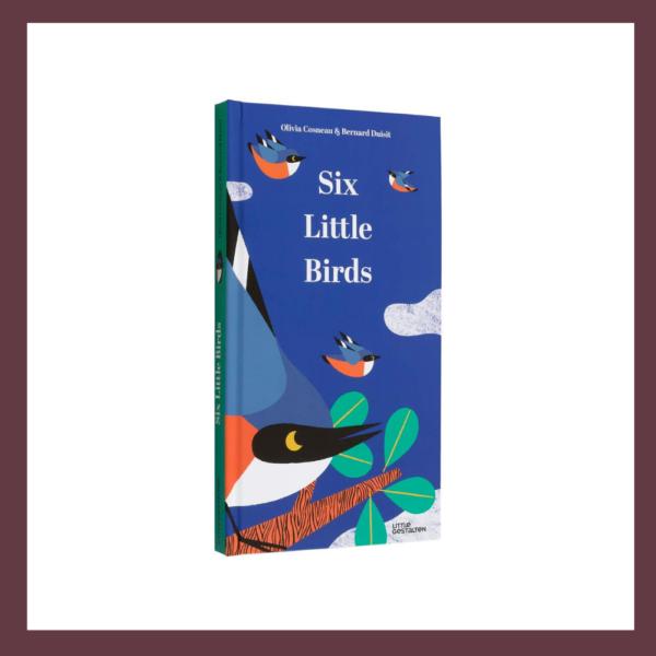 Six Little Birds Pop up Children's Book