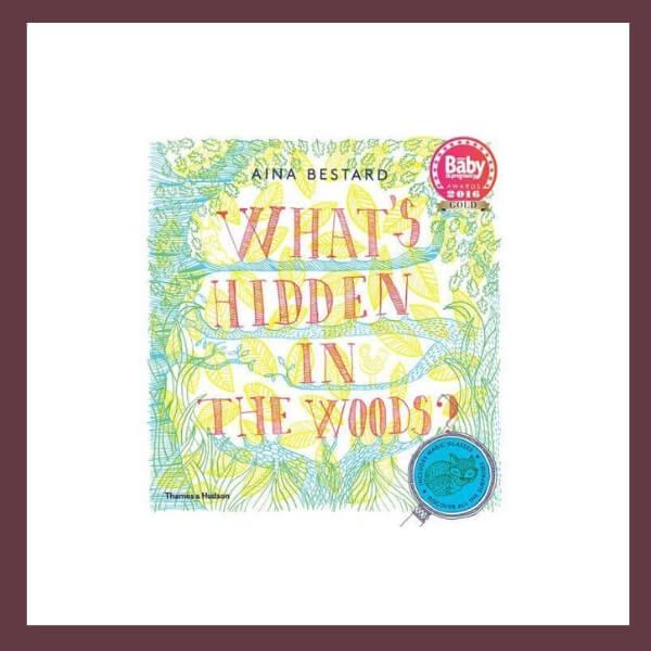 What's Hidden In the Woods? Children's Book