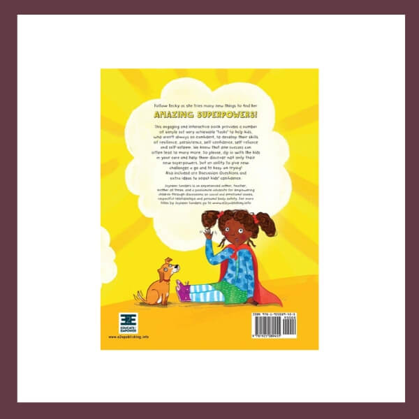 Hey There! What's Your Superpower? Children's Book