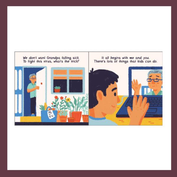 Covid-19 for Kids Children's Books